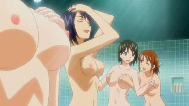 女子 胸裸シャワーシーン