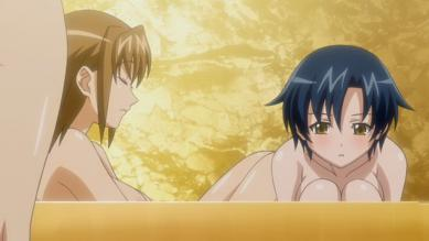 美波野カレン 胸裸入浴シーン