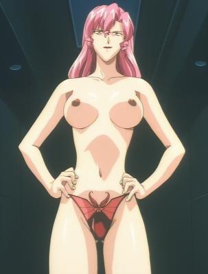 ネーナ 胸裸パンツ