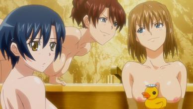 藍華(右) 入浴シーン