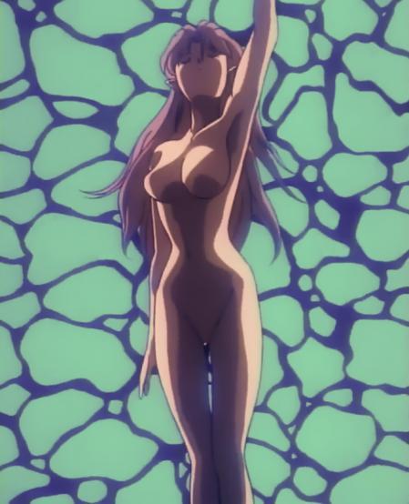 無責任艦長タイラー ORIGINAL MUSIC CLIP アザリンのプールで全裸水泳シーン1