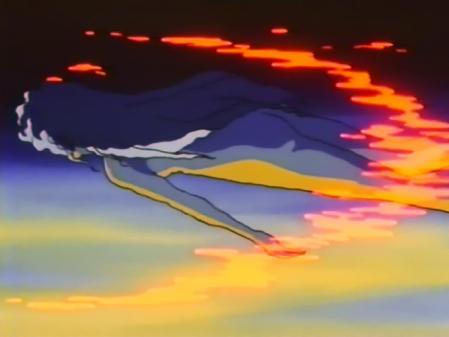 無責任艦長タイラー ORIGINAL MUSIC CLIP アザリンのプールで全裸水泳シーン2