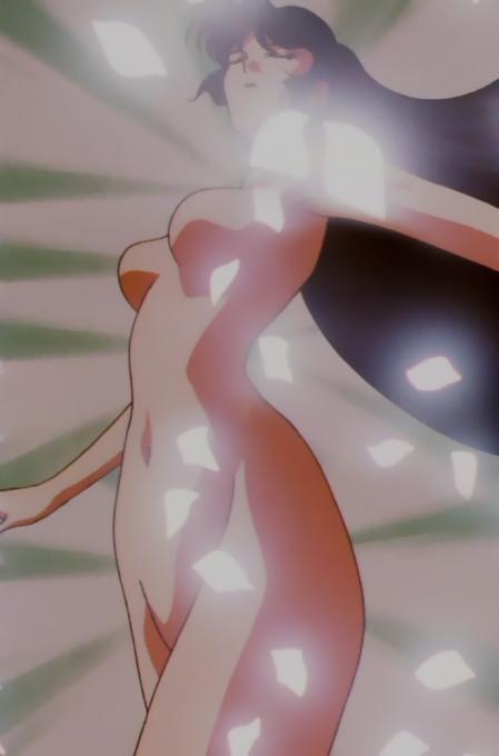 キューティーハニーF 如月ハニーの全裸変身シーン19