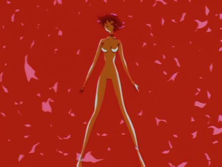 キューティーハニーF 如月ハニーの全裸変身シーン42x