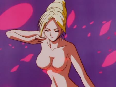 キューティーハニーF 如月ハニーの胸裸変身シーン50