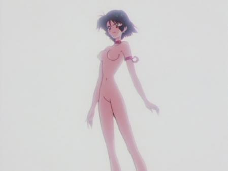 キューティーハニーF 如月ハニーの全裸変身シーン83