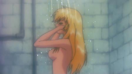 キューティーハニーF劇場版 如月ハニーの胸裸シャワーシーン3