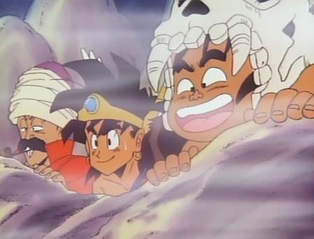 ドラゴンクエスト勇者アベル伝説 デイジィの入浴を覗くヤナック達