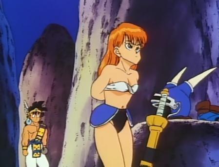 ドラゴンクエスト勇者アベル伝説 デイジィの着替えシーン ビキニ姿29