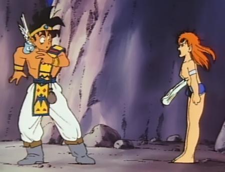ドラゴンクエスト勇者アベル伝説 デイジィの胸裸おっぱいポロリ31