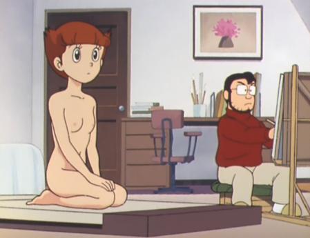 エスパー魔美 佐倉魔美の全裸ヌードモデル2