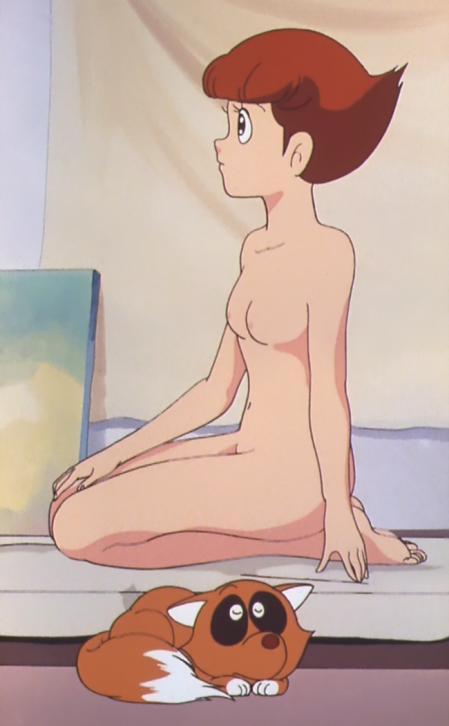 エスパー魔美 佐倉魔美の全裸ヌードモデル3