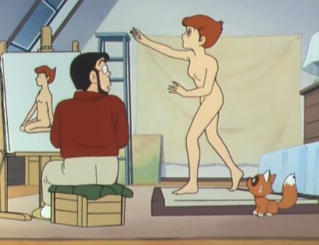 エスパー魔美 佐倉魔美の全裸ヌードモデル5