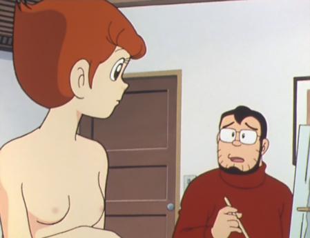 エスパー魔美 佐倉魔美の胸裸ヌードモデル6