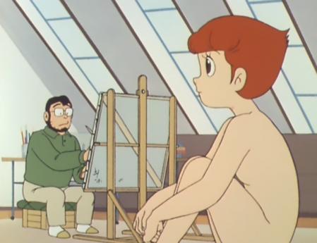 エスパー魔美 佐倉魔美の全裸ヌードモデル9