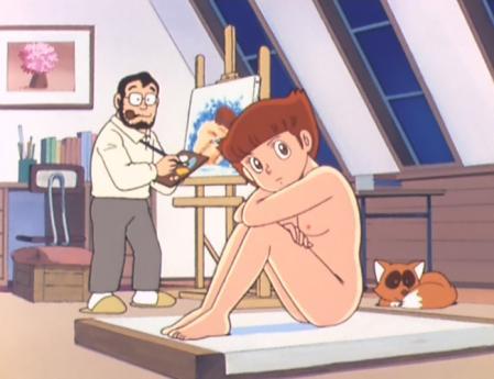 エスパー魔美 佐倉魔美の全裸ヌードモデル6