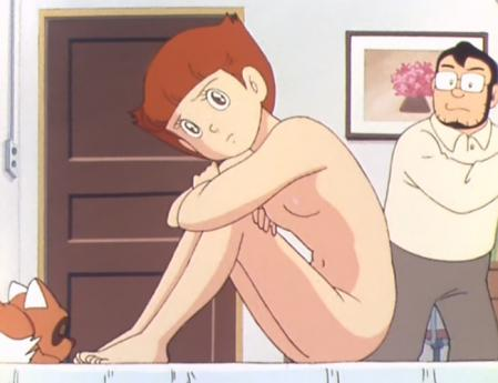 エスパー魔美 佐倉魔美の全裸ヌードモデル1