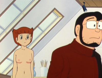 エスパー魔美 佐倉魔美 ヌードモデル 全裸