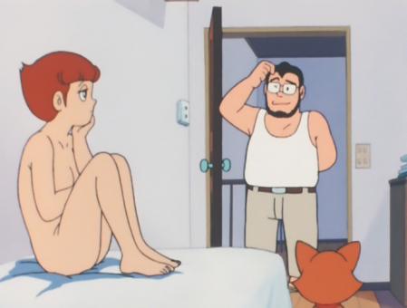 エスパー魔美 佐倉魔美の全裸ヌードモデル4