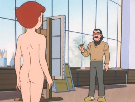 エスパー魔美 佐倉魔美の全裸ヌードモデル8