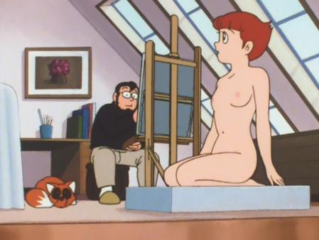エスパー魔美 佐倉魔美の全裸ヌードモデル10