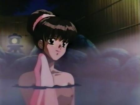 アニメ卒業Graduation 中本静の胸裸温泉入浴シーン乳首2