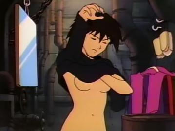 ホンラン 胸裸 着替えシーン