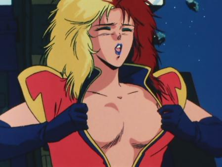 機動戦士ガンダムZZ キャラ・スーンの胸裸4