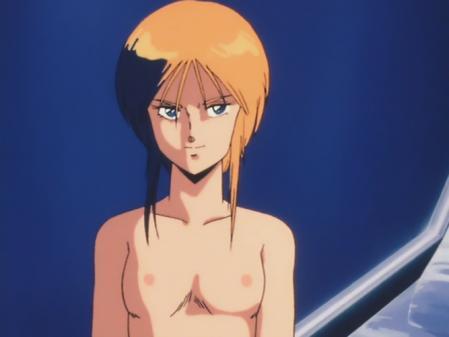機動戦士ガンダムZZ プルツーの胸裸乳首10