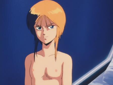 機動戦士ガンダムZZ プルツーの胸裸乳首11