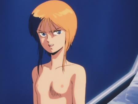 機動戦士ガンダムZZ プルツーの胸裸乳首12
