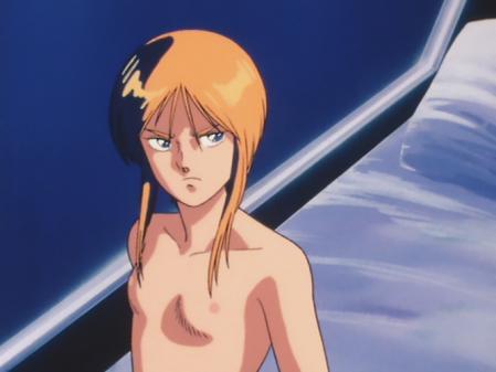 機動戦士ガンダムZZ プルツーの胸裸乳首7
