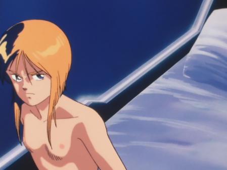 機動戦士ガンダムZZ プルツーの胸裸乳首8
