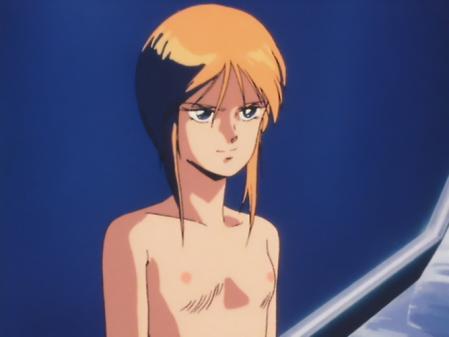 機動戦士ガンダムZZ プルツーの胸裸乳首9