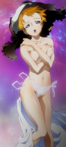 真田紫子 胸裸パンツ
