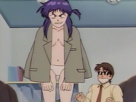 毎日が日曜日 舞島サラサの胸裸パンツ4