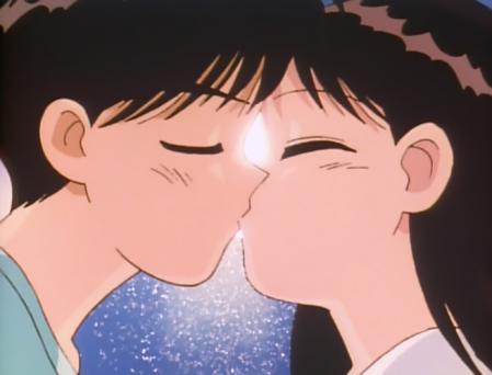 水色時代 河合優子と長沼博士のキスシーン