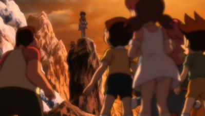 のび太の新魔界大冒険 パンチラ