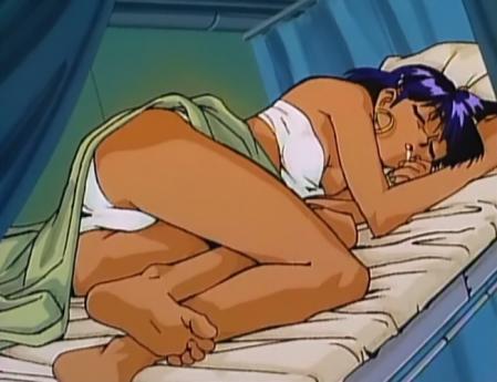 ナディアおまけ劇場 エロい寝姿でパンツ1