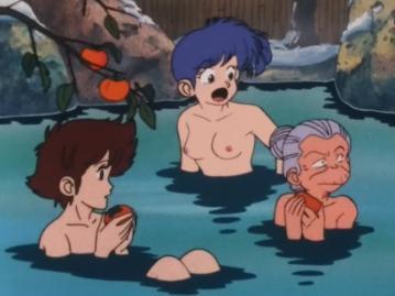 沢口リカ 胸裸 温泉入浴シーン(15話)
