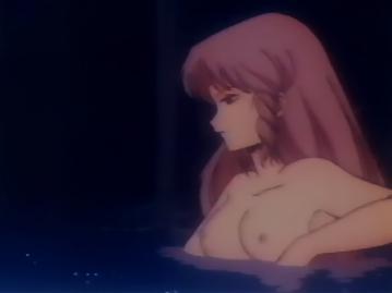 B子 胸裸 入浴シーン