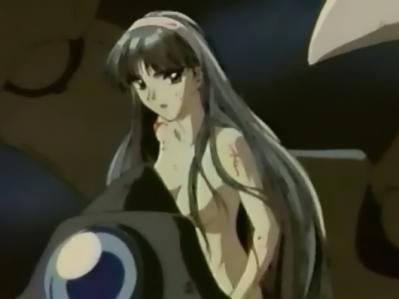 レイアースOVA版希望の翼 龍咲海の全裸ヌード
