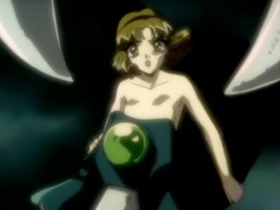 レイアースOVA版 鳳凰寺風の胸裸ヌード