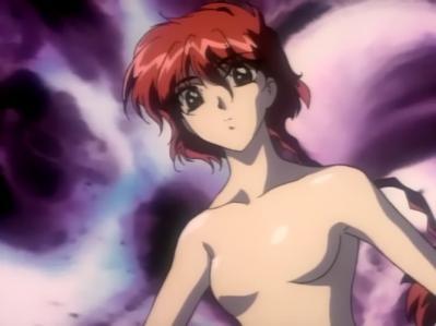 レイアースOVA版 獅堂光の胸裸ヌードおっぱい