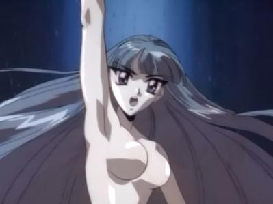 レイアースOVA版 龍咲海の胸裸ヌードおっぱい