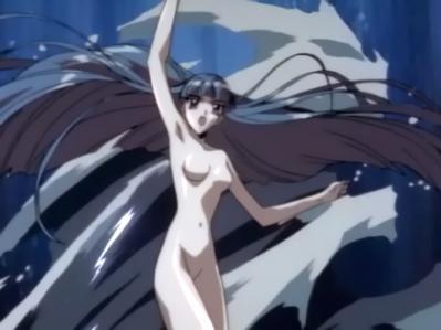 レイアースOVA版 龍咲海の全裸ヌード