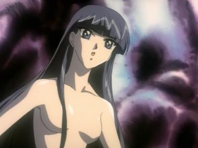 レイアースOVA版 龍咲海の胸裸ヌード