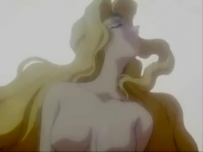 エメロード姫の胸裸ヌードおっぱい