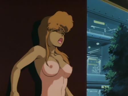 ライディングビーン 人質女性の胸裸乳首12