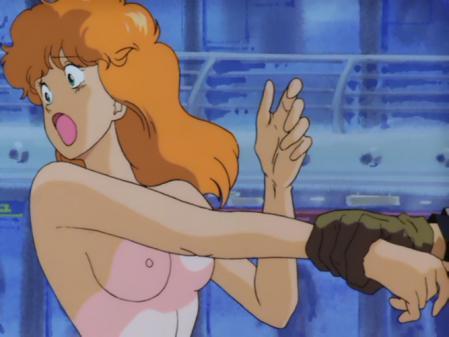 ライディング・ビーン 人質女性の胸裸乳首4